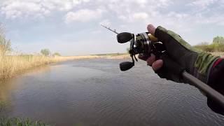 Река Воронеж и крупные воблеры минноу Рыбалка с берега