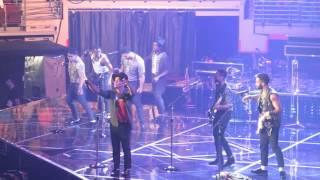 """Bruno Mars - """"If I Knew/Runaway Baby"""" Live at Verizon Arena 2014"""