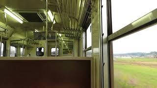 2020.10.19 - 413系普通列車831Mデッドセクション通過(クモハ413-4車内)