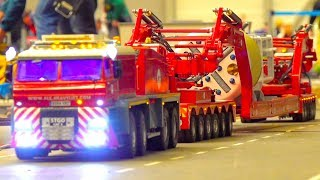 SUPER HEAVY RC TRUCK TRANSPORT I HEAVY HAULAGE RC TRUCK I TRANSPORTING TUNNEL DRILL I ALE HEAVYLIFT
