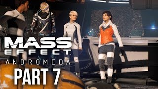 MASS EFFECT ANDROMEDA Walkthrough Part 7 - MEETING (Female) Full Game