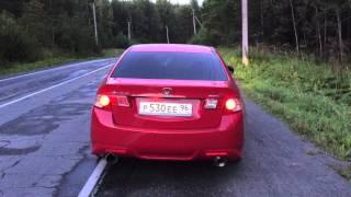 Honda Accord 8 Type-S звук спортивных глушителей (прямоток)(Добавил свое видео, потому что толком сам тогда найти не мог примера., 2015-08-16T07:26:32.000Z)