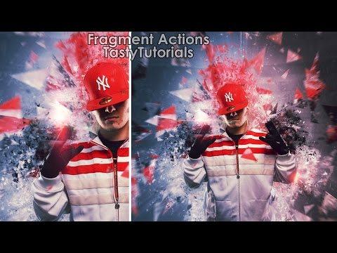Fragment Photoshop Actions