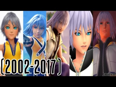 Riku Voice Acting Comparison 20022017
