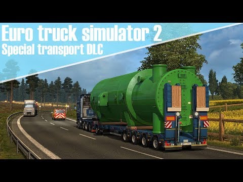Euro Truck Simulator 2 - Extreme grote vracht transporteren! [Special transport DLC]