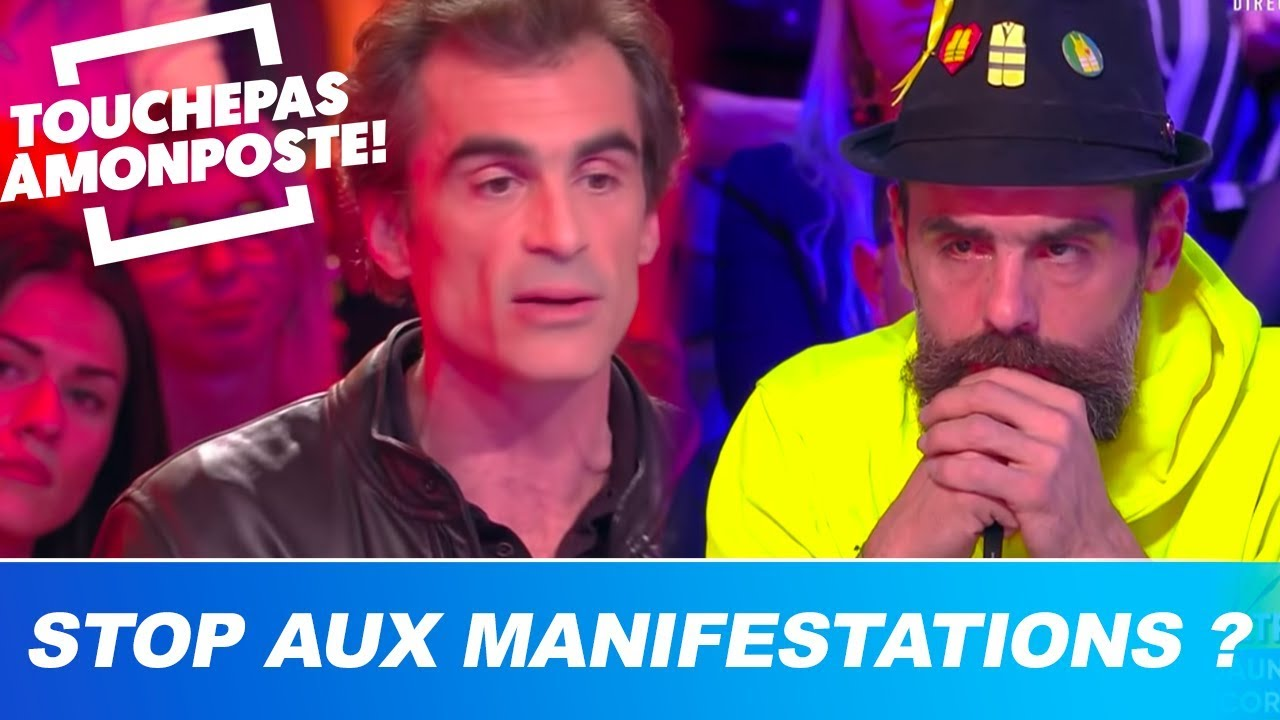 Stop aux manifestations ? Raphaël Enthoven s'explique face à des gilets jaunes