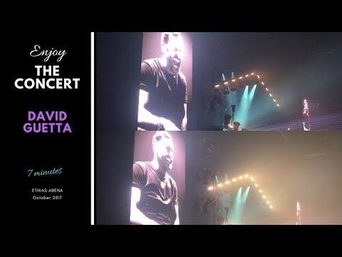 Concert David Guetta - Ethias Arena, Hasselt, octobre 2017