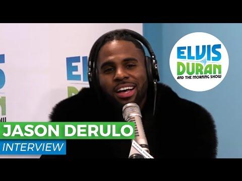 "Jason Derulo Talks About His New Single ""Swalla"" | Elvis Duran Show"
