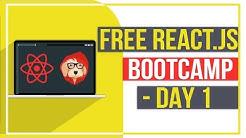 Free React.js Bootcamp - Day 1