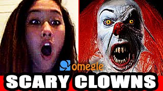 Killer Clowns Prank on Video Chat! with Pennywise & Creepy
