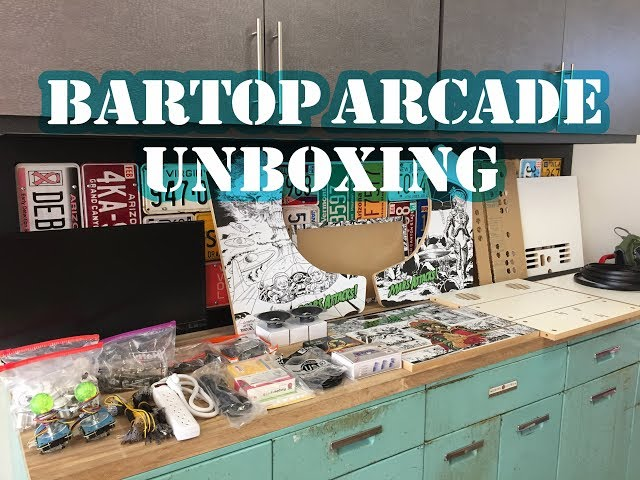 Bartop Arcade -  Unboxing 2018 (Retropie)