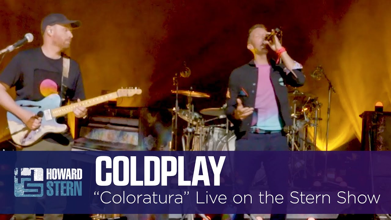 """Download Coldplay """"Coloratura"""" Live Exclusive on the Stern Show"""