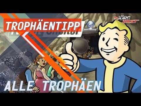 Fallout Shelter - Alle Erfolge/Trophäen - Meist Easy Dank Glitch