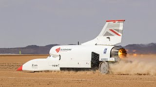 Bloodhound LSR hits 638 mph in test run