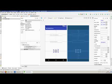 Bubble Sort Algorithm implementation in Android App using Android Studio
