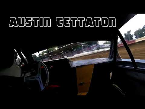In Car Cam of Austin Tettaton At Highland Speedway 7-28-18
