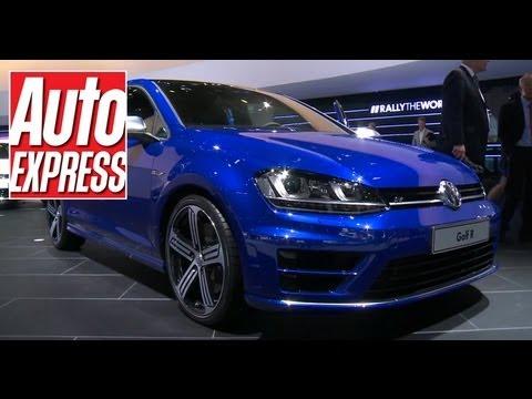 Volkswagen Golf R at the Frankfurt Motor Show
