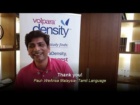 Greetings in 8 languages from Volpara's Asia Pacific distributors