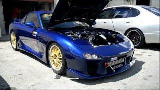 Mazda RX7 R2 Turbo Microtech JDM Work Recaro RE-Amemiya HKS - avail...