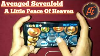 "Avenged Sevenfold - a little peace of heaven ""REAL DRUM COVER"""