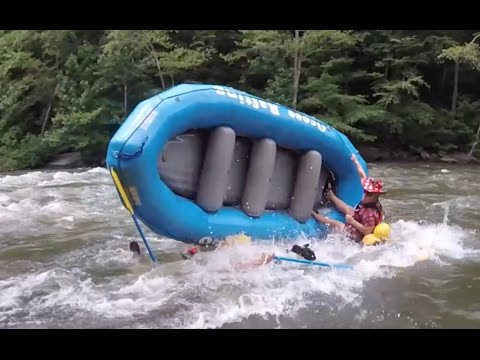 2016 WHITEWATER RAFTING CARNAGE VIDEO on Ocoee, Gauley, Chattahoochee, Tallulah Rivers and More