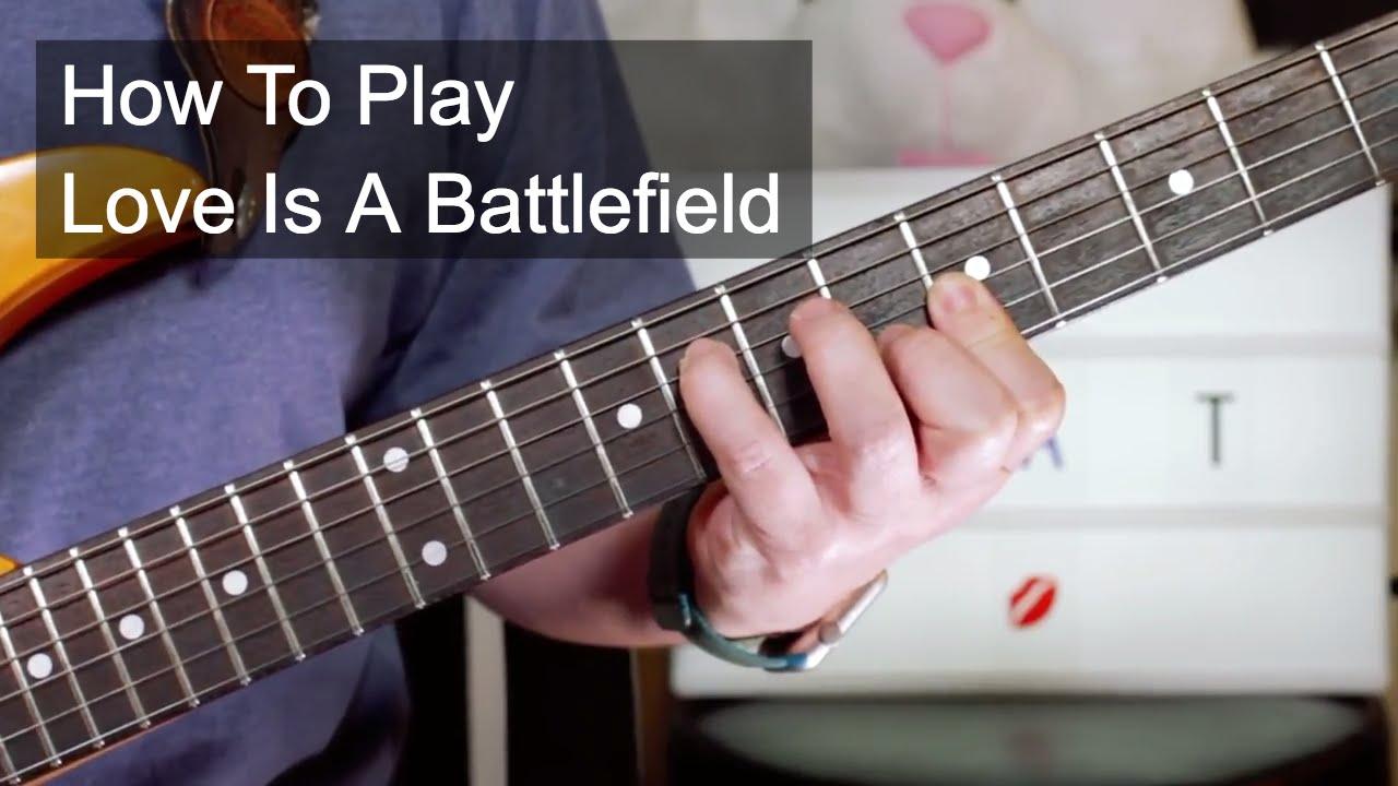 Love is a battlefield pat benatar guitar lesson youtube love is a battlefield pat benatar guitar lesson hexwebz Image collections