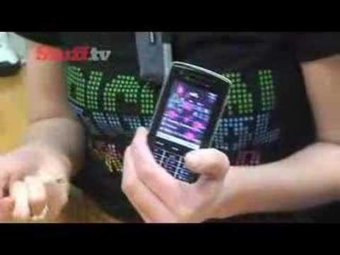 Sony Ericsson W960i - video review from Stuff.tv