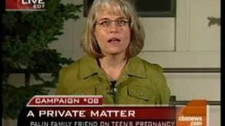 Palin Family Friend Speaks