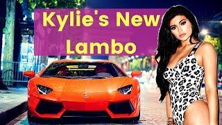 Kylie Jenner Flaunts her Lamborghini Luxury Lifestyle