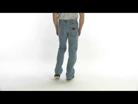 6cf2aaf6bde Wrangler Retro IRS Jeans - Relaxed Fit, Bootcut (For Men) - YouTube