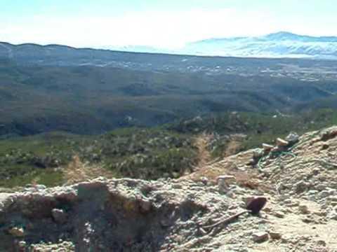 A working Tourmaline Mine San Diego county