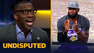 Skip & Shannon react to LeBron's Lakers vs. Miami Heat in the 2020 NBA Finals | NBA | UNDISPUTED