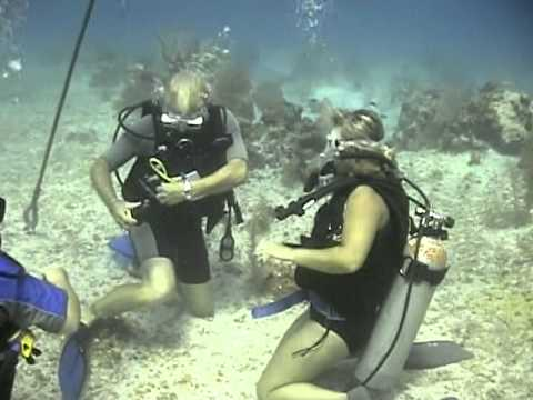 First Dive in the Caiman Islands- The Law of Attraction