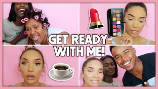 *CHAOTIC* GRWM! (Life Update + Special Guests!)
