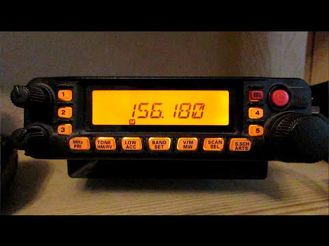 Search & Rescue VHF Transmissions - Yaesu FT-7900R
