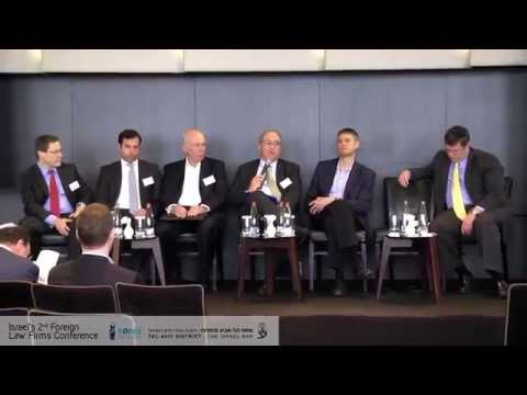 Panel- Israel in the Eyes of Global Law Firms - Israel's 2nd foreign law firms conference