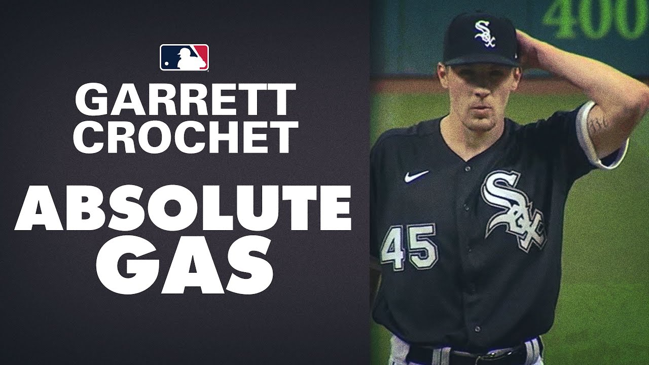 White Sox Garrett Crochet hits 100 mph 11 times in ONE inning vs. Indians!
