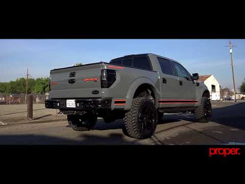 Roushcarged Ford Raptor