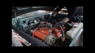 1964 Plymouth Fury 318cui smallblock first start