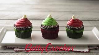 Cupcakes Decorados como Duendes Navideños