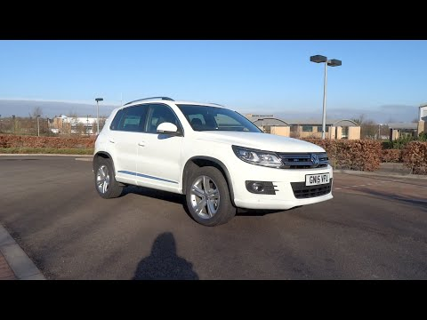2015 Volkswagen Tiguan 2.0 TDI 140 4MOTION R Line Start Up and Full Vehicle Tour