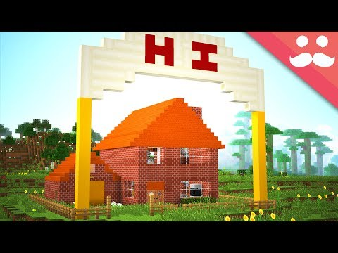 Transforming Vicky's FIRST MINECRAFT HOUSE With Redstone!