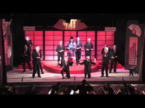 """G&S The Mikado 2015 (clip 1) 