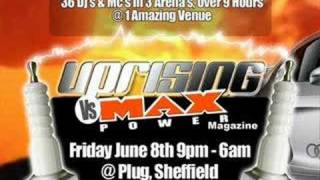 Uprising Vs Max Power Dj Demand & Mc Marcus