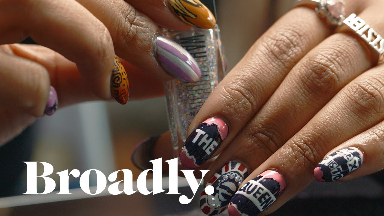 This Cult Nail Artist Has the World at Her Fingertips - YouTube