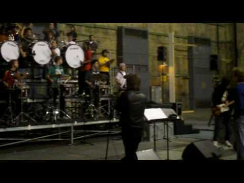 USC Trojan Marching Band + Radiohead @ 2009 Grammys | Behind The Scenes