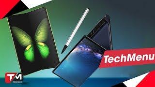 Vì sao Galaxy Fold và Huawei Mate X không có bút?