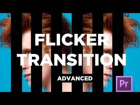 Advanced Flicker Transition: Adobe Premiere Pro CC Tutorial (You're doing it wrong)