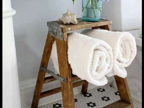 Small Bathroom  Inspired by Towel Rack Ideas
