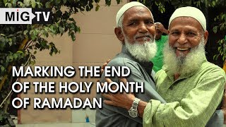 Marking the end of the holy month of Ramadan